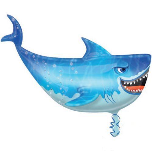 Köpek Balığı ( Shark ) Folyo Balon 80x54 cm, fiyatı
