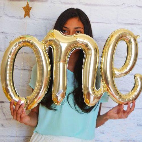 One Folyo Balon Gold 38*110 cm, fiyatı