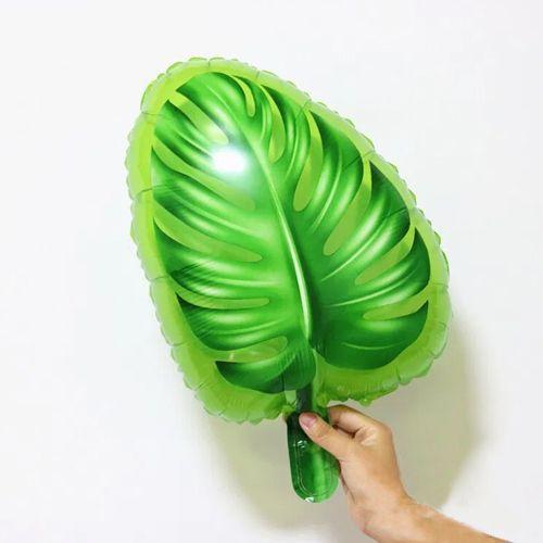 Tropikal Yaprak Folyo Balon 37x45 cm, fiyatı
