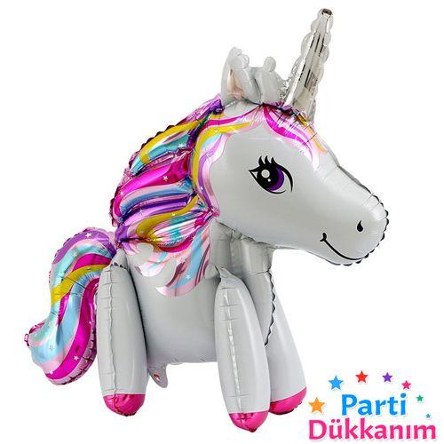 Unicorn Ayaklı Folyo Balon Küçük (55x58 cm), fiyatı