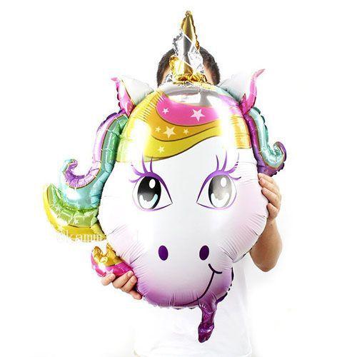 Unicorn Folyo Balon (80*75 cm), fiyatı
