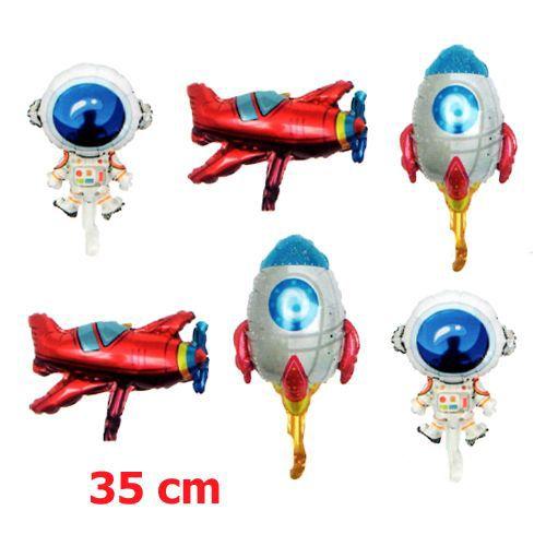 Uzay Temalı Folyo Balon 6'lı Set, fiyatı