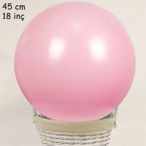 18 İnch 45 cm Makaron Balon Pembe, fiyatı