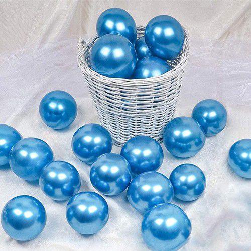 5 İnch Mini Mavi Krom Balon 10 Adet, fiyatı