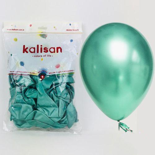 Yeşil Krom Balon 50 Adet (30 cm), fiyatı