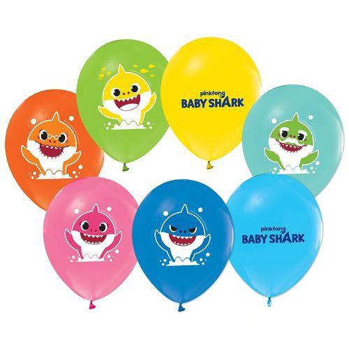 Baby Shark Balon (15 adet), fiyatı