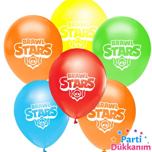 brawl stars baskılı balon