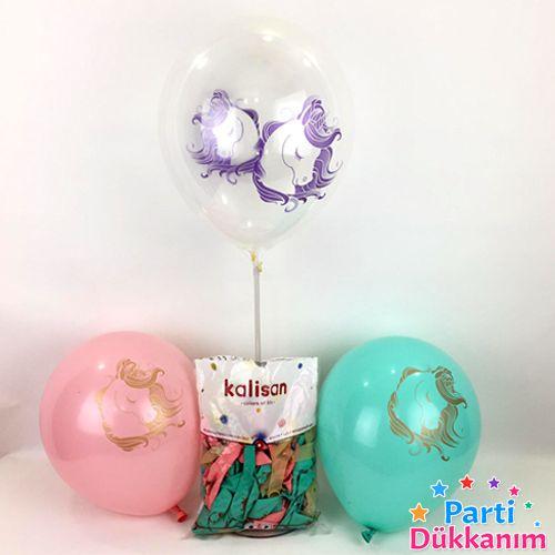 Unicorn Soft Balon (10 adet), fiyatı