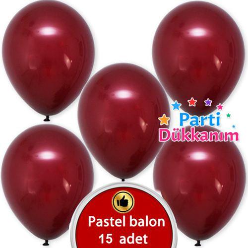 Bordo Balon 15 Adet, fiyatı