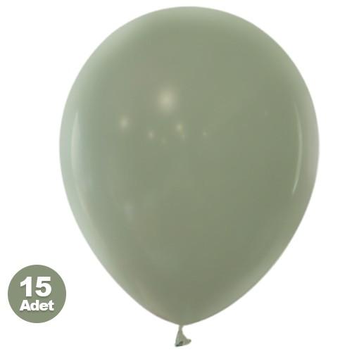 Küf Yeşili Balon 15 Adet, fiyatı