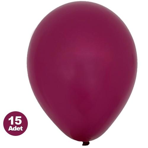 Mürdüm Balon 15 Adet, fiyatı