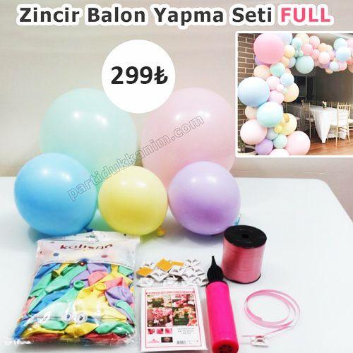Makaron Zincir Balon Yapma Seti 5 Parça, fiyatı