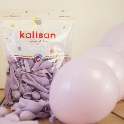 6 inç Makaron Balon Lila 20 Adet, fiyatı