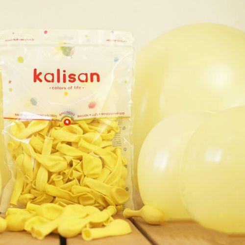 6 inç Makaron Balon Sarı 20 Adet, fiyatı