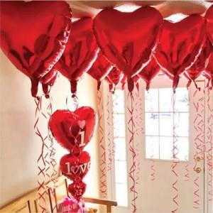 Sevgililer Günü Balonları