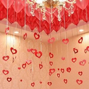 Sevgiliye Uçan Balon Sürprizi