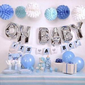 Baby Shower JOY Blue