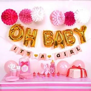 Baby Shower JOY Pink