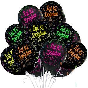 Baskılı Balonlar (Desenli)
