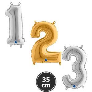 Rakam Folyo Balon 35 cm