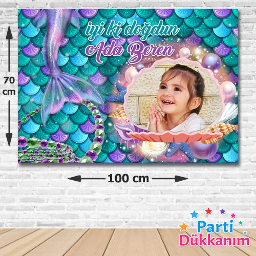 Deniz Kızı Konsept Afiş 70*100 cm, fiyatı