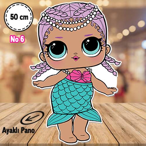 Lol Bebekler Ayaklı Pano 50 cm 1 adet, fiyatı