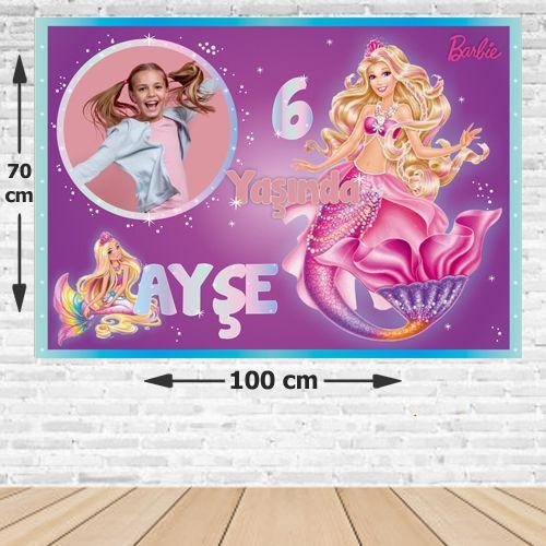 Barbie Deniz Kızı Afişi 70*100 cm, fiyatı