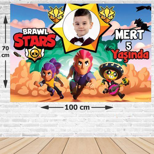 Brawl Stars Doğum Günü Afişi 70*100 cm, fiyatı