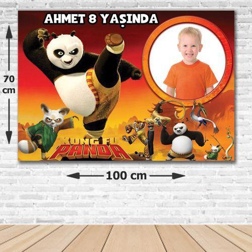 Kung Fu Panda Doğum Günü Parti Afişi 70x100 cm, fiyatı