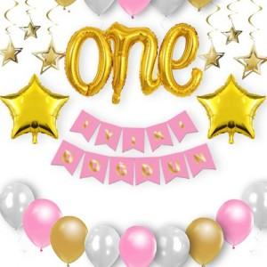 1 Yaş Doğum Günü Süsleri Kız