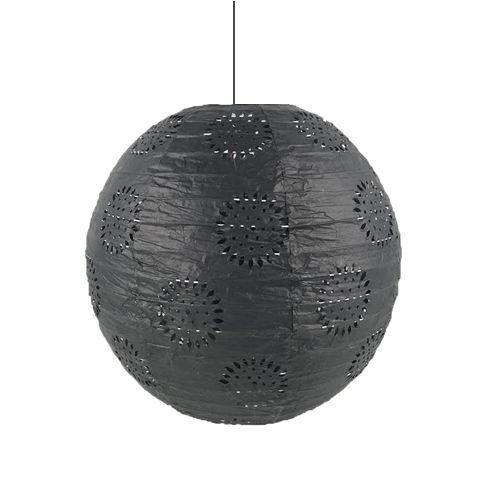 Siyah Dantelli Fener Süs 1 Adet (30 cm), fiyatı