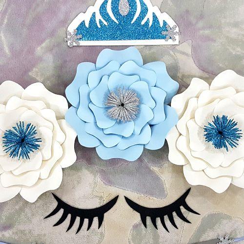 Frozen 2 Kağıt Çiçek Seti, fiyatı