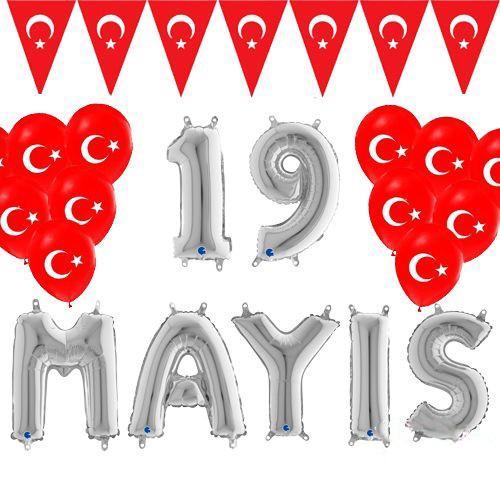 19 Mayıs Balon Süsleme Seti, fiyatı