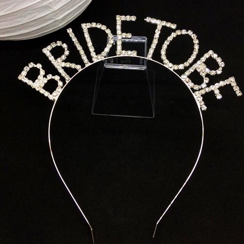 Bride To Be Metal Taç Swarovski Taşlı - Model 3, fiyatı