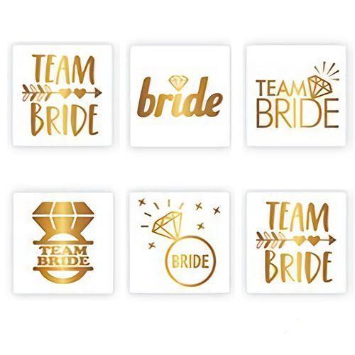 Team Bride Geçici Dövme 6 Adet, fiyatı