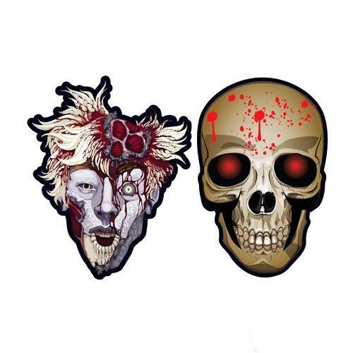 Hallowen Cadılar Bayramı Kağıt Maske 6 Adet, fiyatı