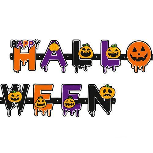 Cadılar Bayramı Hallowen Yazısı 120 cm