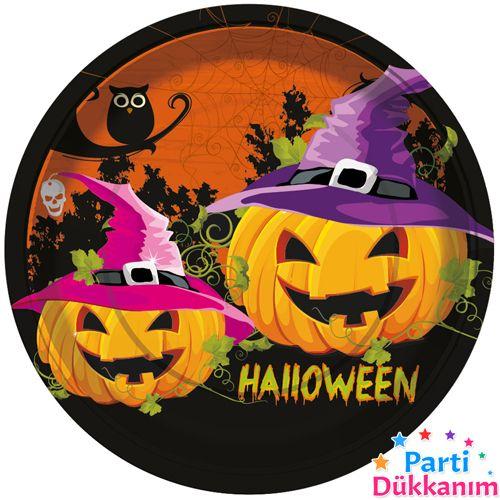 Halloween Tabak (8 Adet), fiyatı