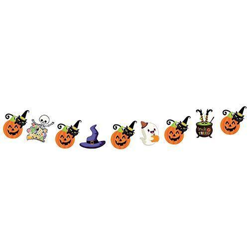 Halloween Cadılar Bayramı Dekoratif Simli Banner 165 cm, fiyatı