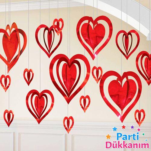 Sevgiliye Özel Kalp Dekorasyon Seti, fiyatı