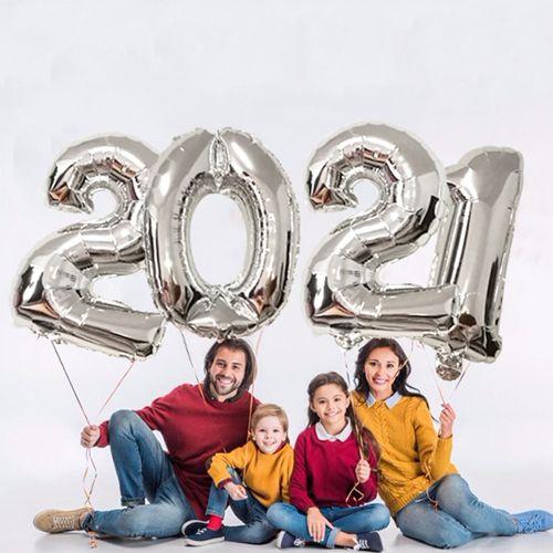 2021 Folyo Balon Set Gümüş, fiyatı