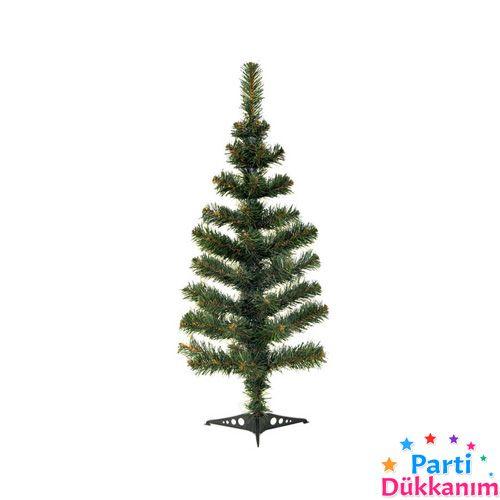 Yılbaşı Çam Ağacı 90 cm - 91 Dallı KUTULU, fiyatı