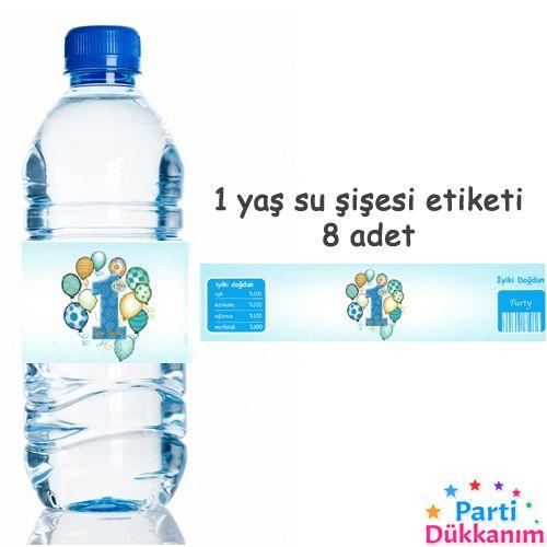 1 Yaş Mavi Su Şişesi Bandı 8 Adet, fiyatı