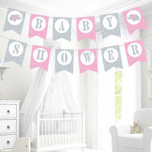 Baby Shower Yazısı Pembe , fiyatı