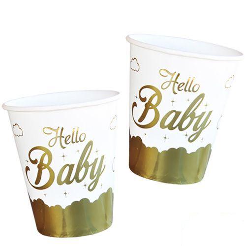 Hello Baby Bardak Gold 6 Adet, fiyatı