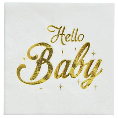 Hello Baby Peçete Gold 6 Adet, fiyatı