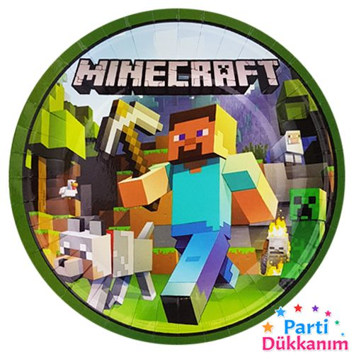 Minecraft Tabak (8 Adet), fiyatı
