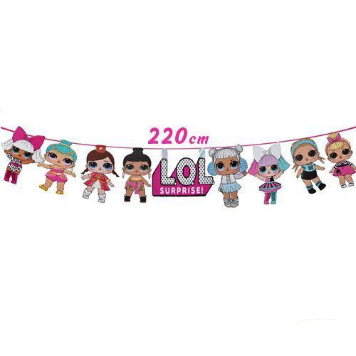 LOL Bebek Figürlü Banner 220 cm, fiyatı