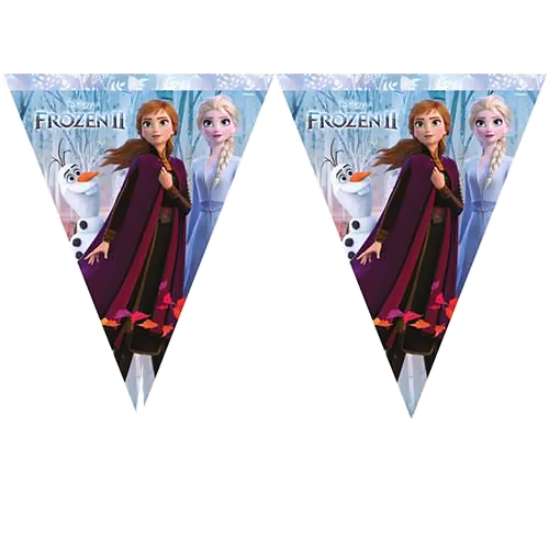 Frozen 2 Flama Bayrak Set (3.2 metre)
