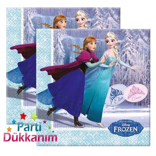 Frozen İce Skating Peçete 20 Adet, fiyatı